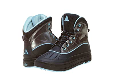 2b43decb40875a ... Nike Woodside 2 High (GS) ACG Girls Boots 524876-400 Dark Obsidian 4 ...