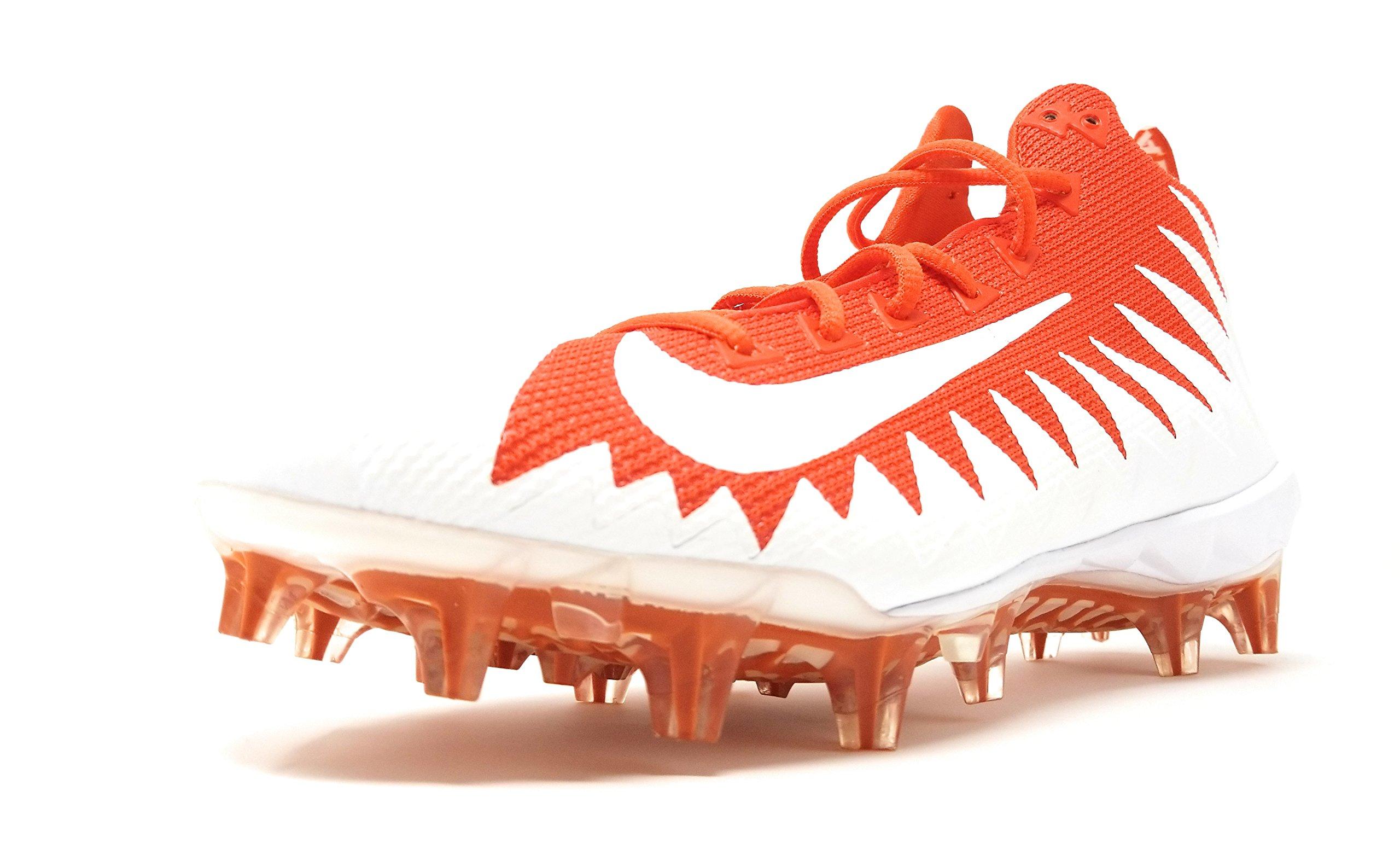 15e8c15be58 Galleon - NIKE Mens Alpha Menace Pro Mid Football Cleats-Team  Orange White-White-10