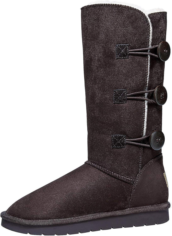 "CAMEL 12"" Tall Mid Calf Winter Boots"
