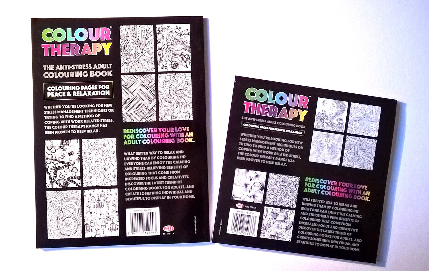 Grown up colouring books benefits - Adult Colouring Books Set Anti Stress Bundle Including 2 Therapy Books A4 Size Smaller Travel Size High Quality Art Pencils Clear Pencil Case Metal
