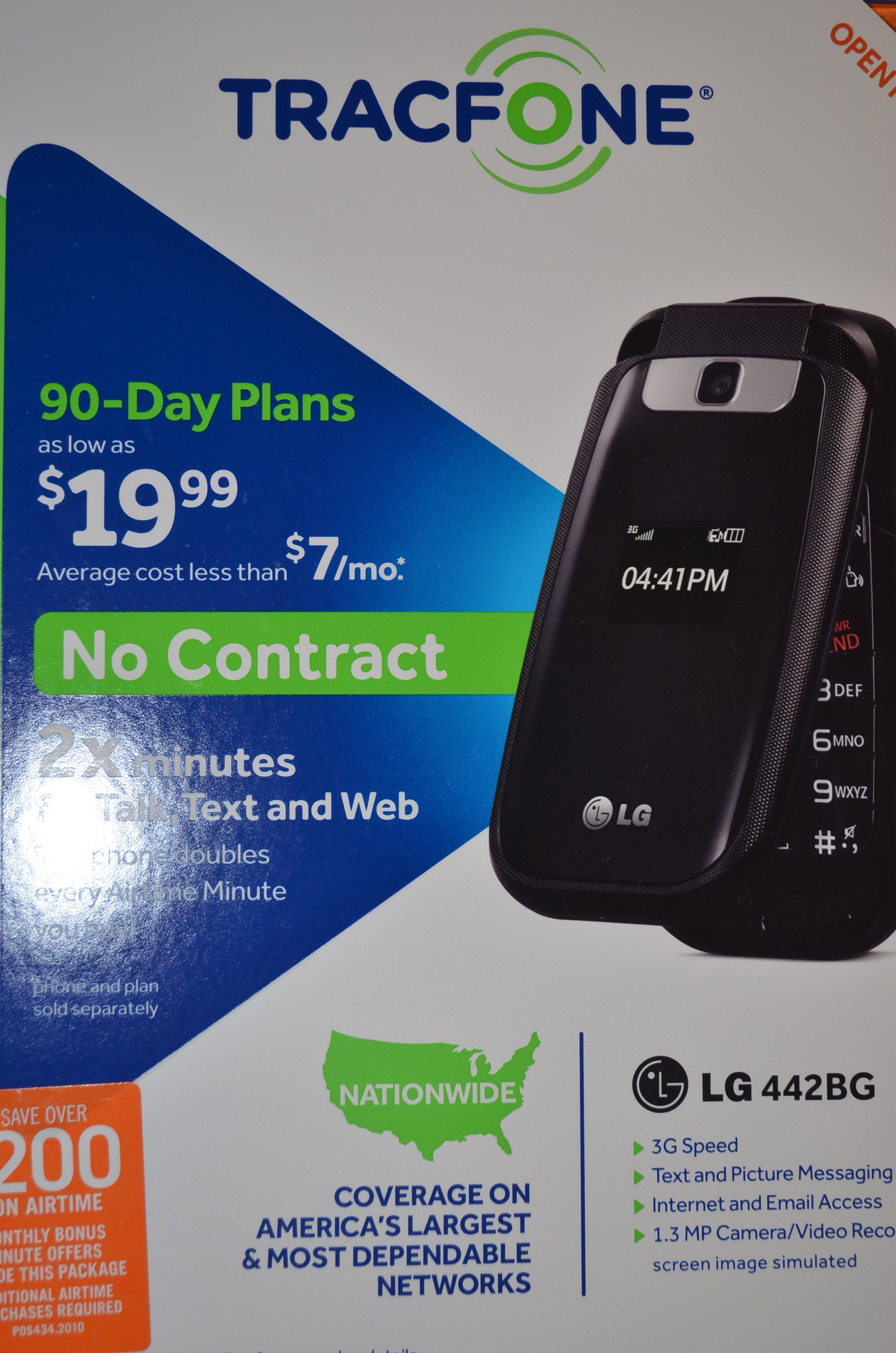 TRACFONE LG 442BG by Tracfone (Image #1)