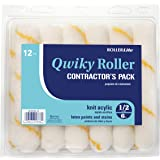 Quali-Tech 6CR050Q-12 6-Inch Roller Lite Corner Rollers 1/2-Inch Nap Contractor Pack Mini Rollers