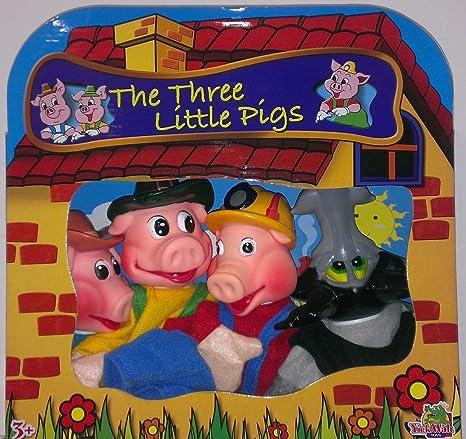 Los Set Marionetas 4 Tres Cerditos mn0vwN8O