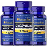 Puritans Pride Melatonin 10 Mg Puritans Pride Melatonin 10 Mg-120 Capsules (3 Pack