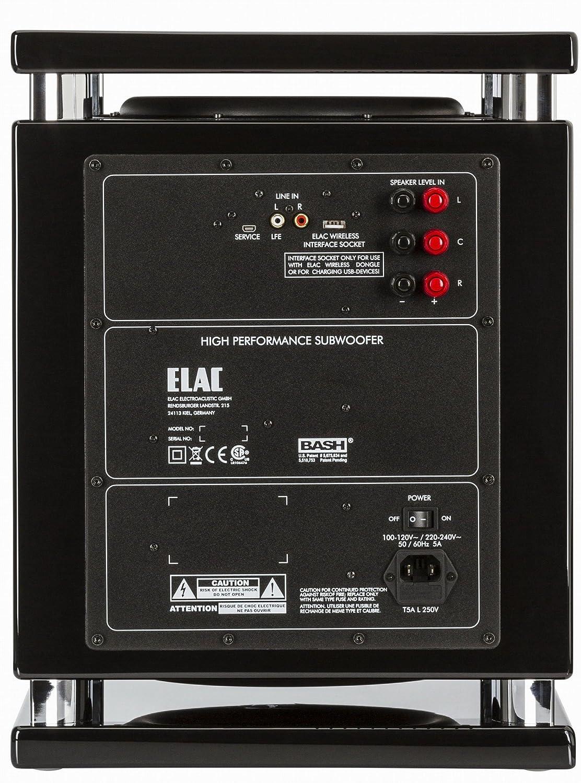 Elac Sub 2070 Soundbar Schwarz Lack Hochlanz Audio Hifi