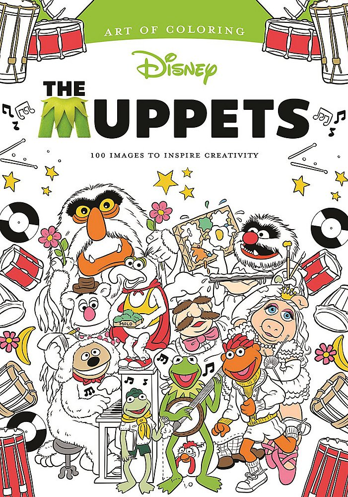 Amazon.com: Art of Coloring: Muppets: 100 Images to Inspire ...