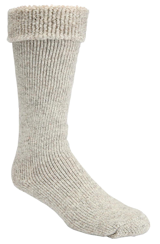 -50 Below Ice Sock (Knee Length, Extra Warm Wool Cushion) - 2 Pairs SoxShop