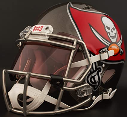 995340fa Amazon.com : Riddell Custom Tampa Bay Buccaneers Full Size NFL Speed ...