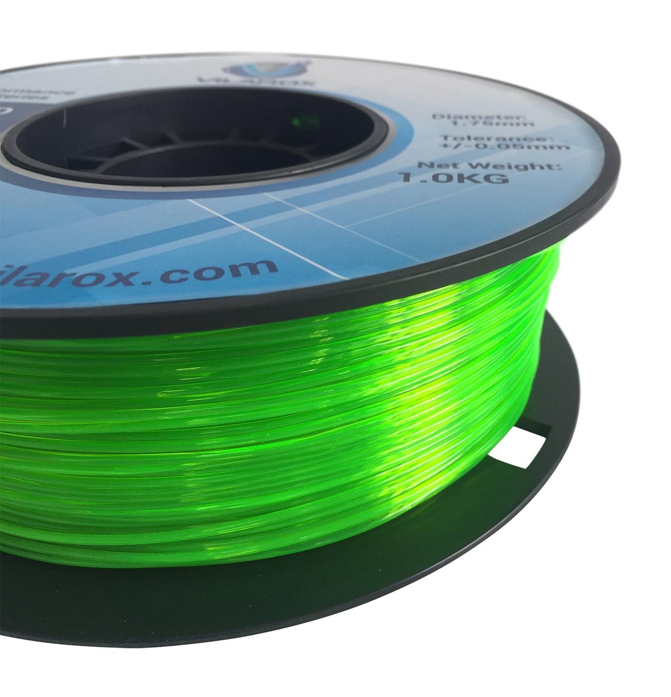 vilarox 3d impresora filamento 1,75 mm PETG vilaglass 1 kg - verde ...