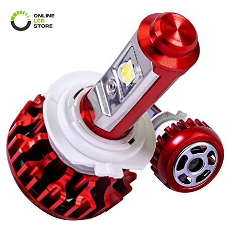 Amazon.com: DuskFire R-Series 9005 (HB3) CREE - Bombilla LED ...
