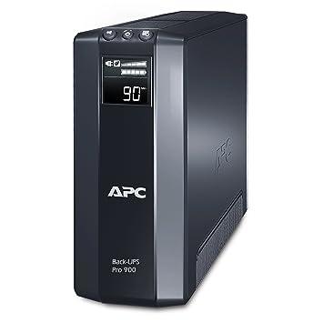 APC Power-Saving Back-UPS PRO - BR900GI - Uninterruptible Power Supply  900VA (AVR, 8 Outlets IEC-C13, USB, Shutdown Software)