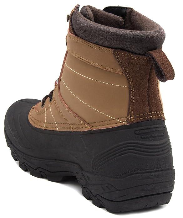 London Fog Kilburn Cold Weather Snow Boot Brown 10: Amazon.ca: Shoes &  Handbags