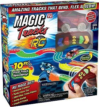 Magic Tracks MAGTRA-RCR RC Racer - Juego de Accesorios para ...