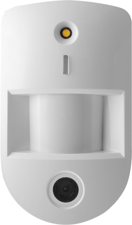 Lupus Electronics 12073 Lupusec Pir Netzwerkkamera V3 Bewegungsmelder Mit Eingebauter Vga Kamera Für Die Lupus Smarthome Alarmanlagen Weiß 120 X 72 X 52 1 Baumarkt