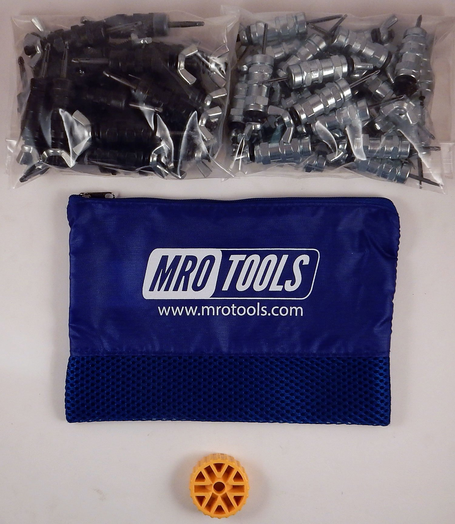 25 5/32 & 25 3/32 Standard Wing-Nut Cleco Fastener w HBHT Tool & Bag (KWN4S50-6) by MRO Tools Cleco Fasteners