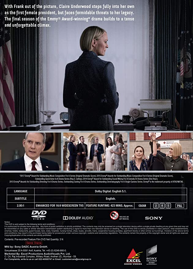 Amazon in: Buy House of Cards: The Complete Final Season 6