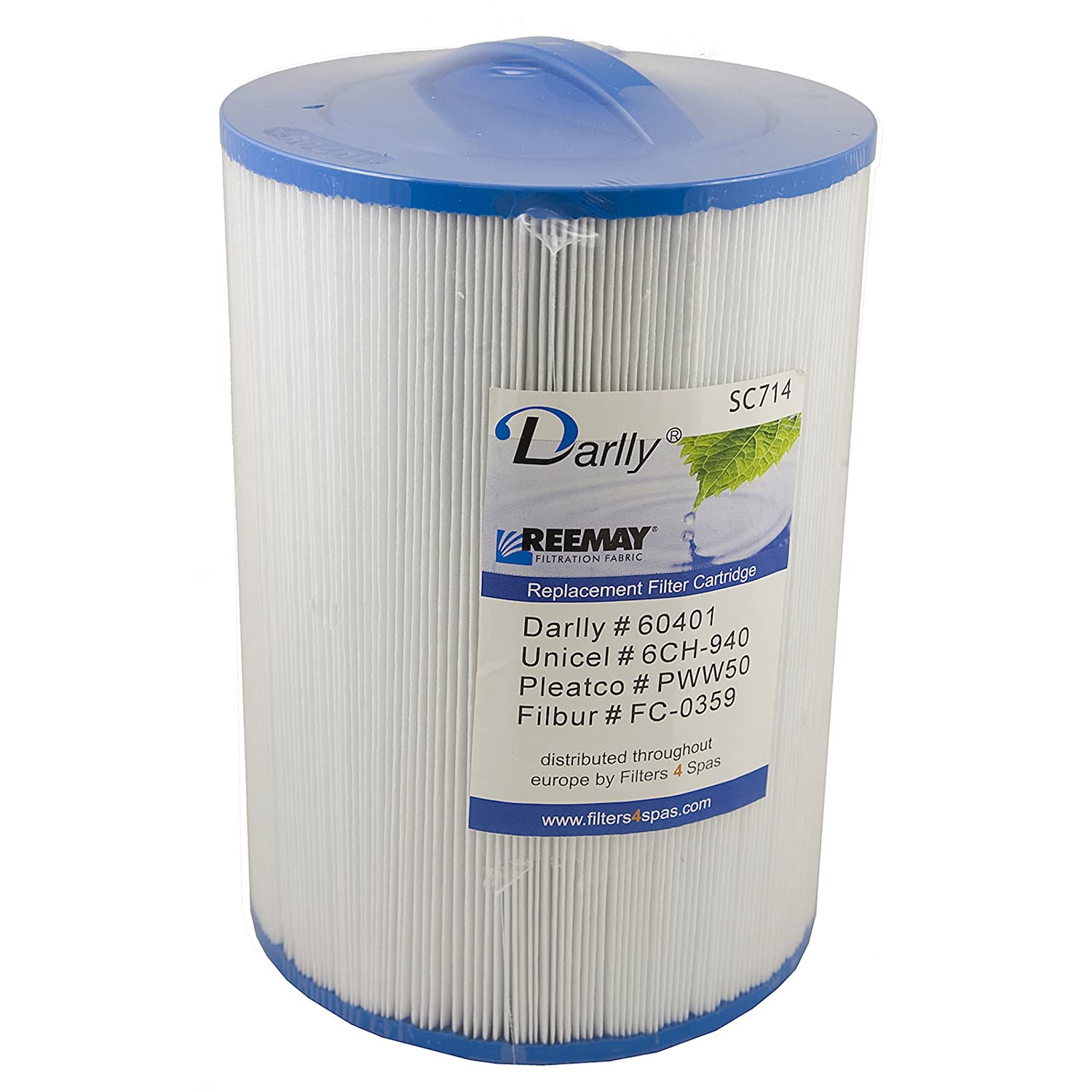 Darlly® Filter Replacement Filter SC714Lamella Filter Aegean Bull Frog Clearwater Spa Leisure Concepts