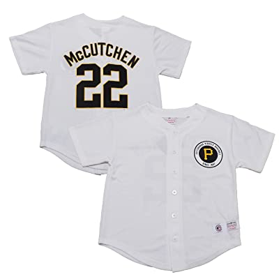 info for a93e1 6099e OuterStuff Andrew McCutchen Pittsburgh Pirates White Youth ...