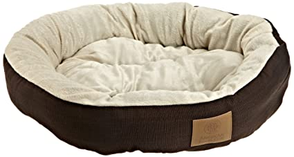 Amazon Com Akc Casablanca Round Solid Pet Bed Dog Bed Pet Supplies