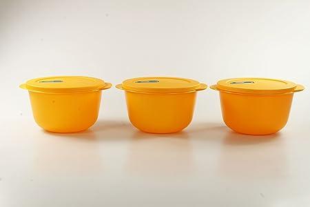 Tupperware Microondas crystalwave 2,0 L Naranja (3) Micro ...