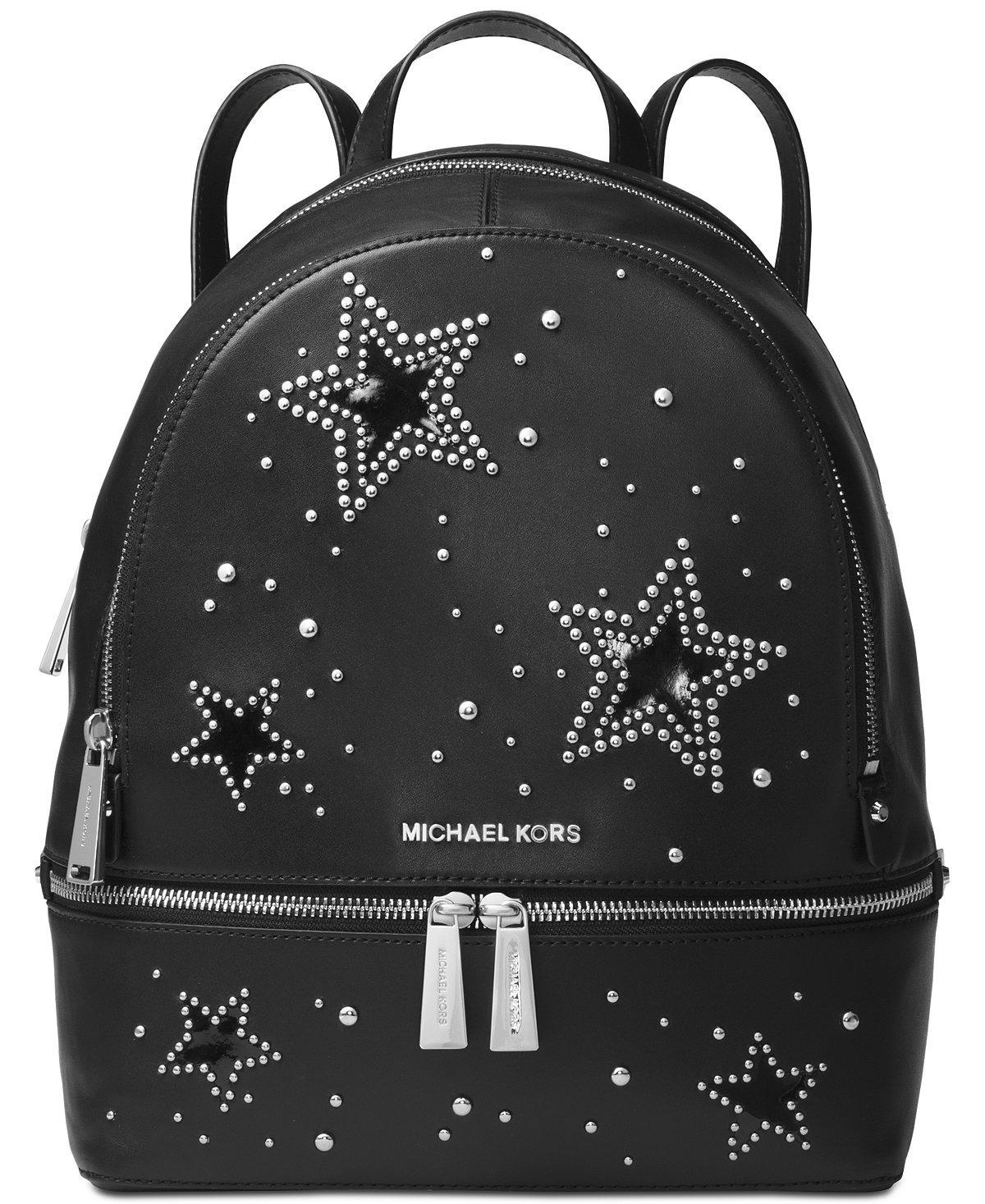 Michael Kors レディース B077XRDMFM Black/Star Studs Black/Star Studs