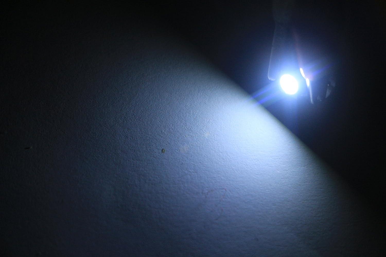 DC 12V Grandview 10pcs Verde T5 B8.4 Lampadine Cruscotto 5050 1-SMD Luci Strumento Sostituzione per Auto Aria Condizionata Luce Luce Dello Strumento Luce Posizione Luce Posacenere Luce