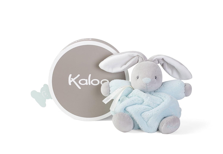 Kaloo Plume - Peluche Coniglietto 18 cm, Blu, K969559 Juratoys IT