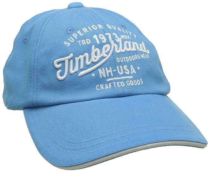 Timberland Cap, Gorra para Niños, Azul (Blue 838) XXX-Large ...
