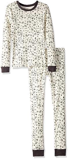 0a8d9cde22c7 Burt's Bees Baby Girls' Big Holiday Pajamas, 2-Piece PJ Sets, 100