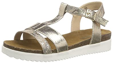 By Size Gold 38cd202 7 Gerli Toe Sandals Dockers Women's Open 616 4zgdBgw