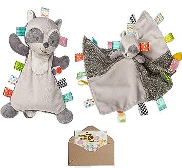 Harley Raccoon Lovey Mary Meyer Baby Girl Boy Taggies Soft Toy