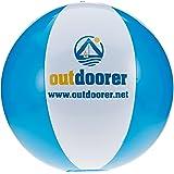 outdoorer BeachSplash Wasserball – Beachball – Strandball, aufblasbar, Durchmesser ca. 28 cm