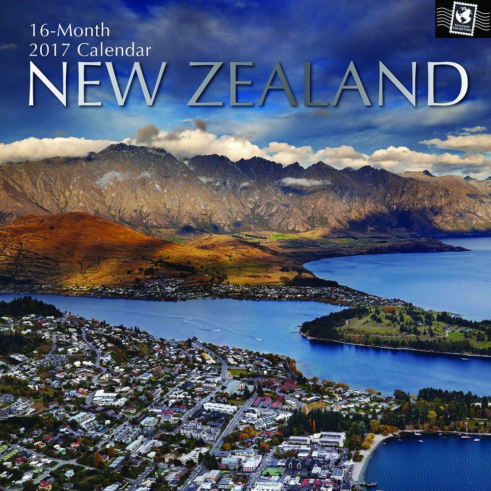 Beautiful Photographs Zealand Monthly Calendar product image