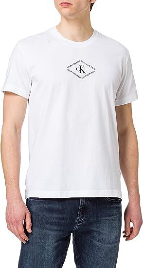 TALLA L. Calvin Klein CK Monotriangle tee Camiseta para Hombre