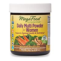 MegaFood, Daily Multi Powder for Women, Supports Optimal Health, Multivitamin and...