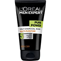 L'OREAL PARIS L'Oréal Men Expert Pure Power Charcoal Wash, 150 Gram