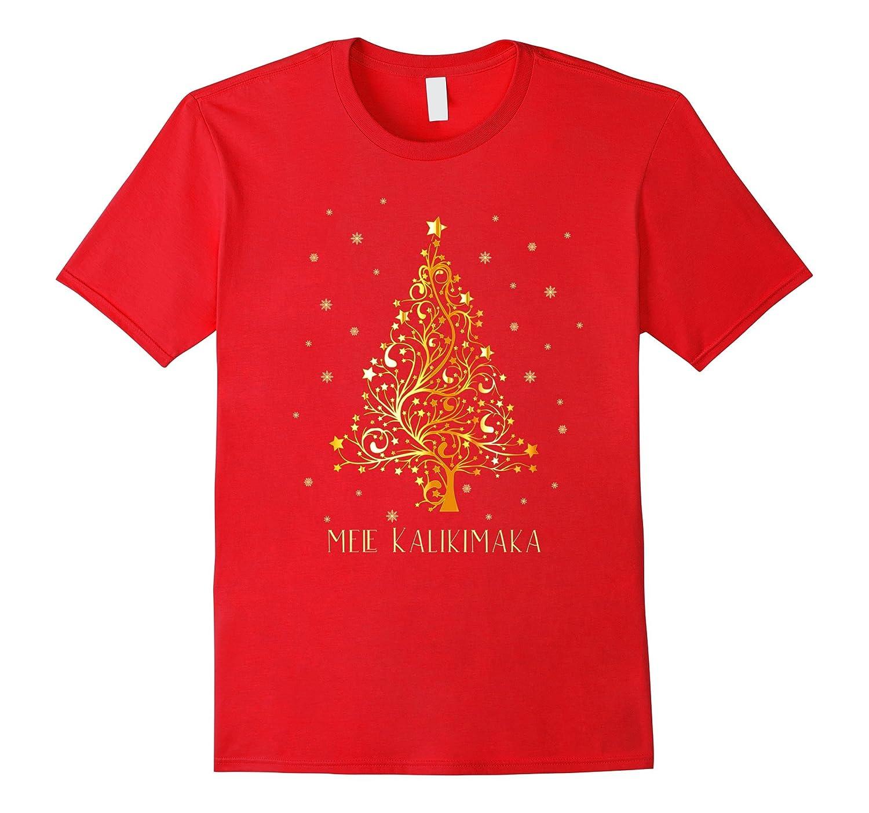 Hawaii Christmas T-shirt Hawaiian Merry Xmas Mele Kalikimaka-ANZ