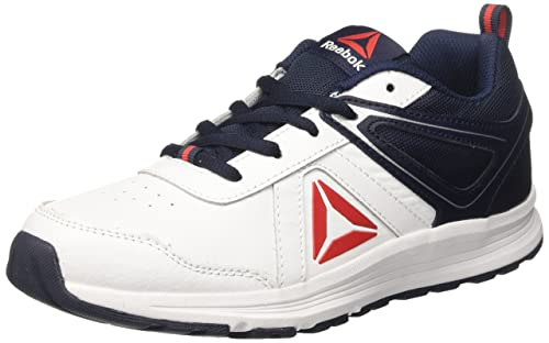 Reebok - Zapatillas de Running para Niños, Blanco (White / Collegiate Navy / Primal Red), 37 EU: Amazon.es: Zapatos y complementos