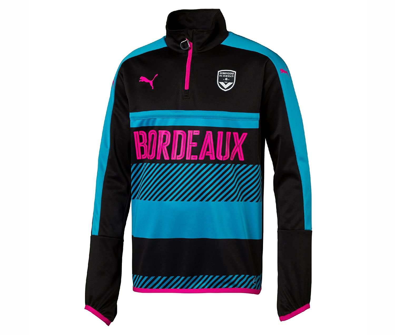 Puma FCGB Training Sweatshirt 1 4 Zip Jungen