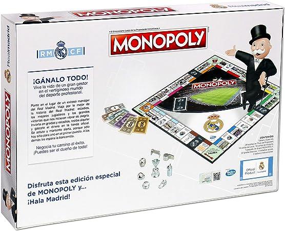 Winning Moves Monopoly Real Madrid CF (63324), Multicolor: Amazon.es: Juguetes y juegos