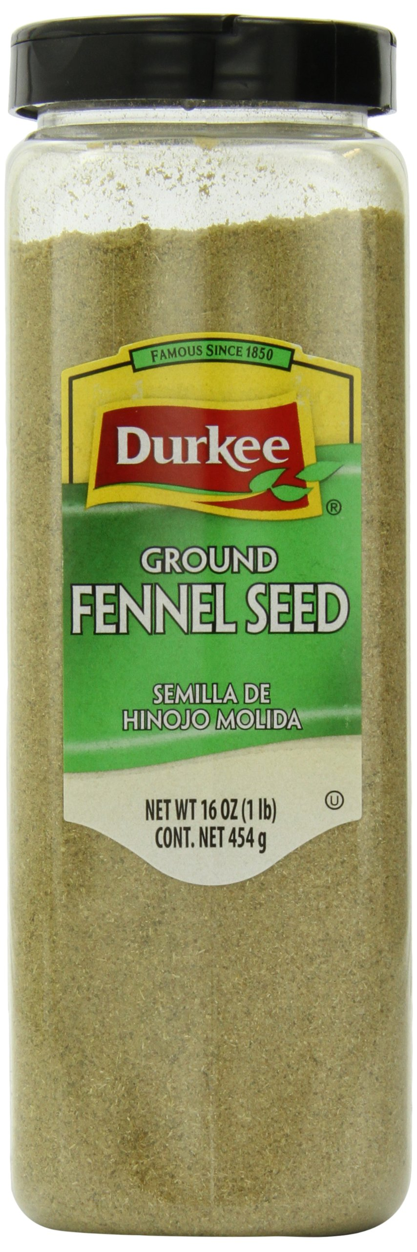Durkee Fennel Ground Seed, 16-Ounce