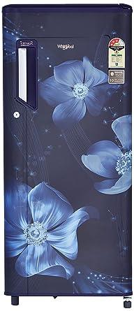 Whirlpool 200 L 3 Star Direct Cool Single Door Refrigerator(215 IMPWCool PRM 3S, Sapphire…