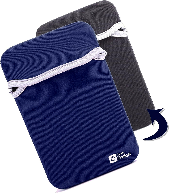 DURAGADGET Funda Reversible De Neopreno Azul y Negra para eBook BQ ...