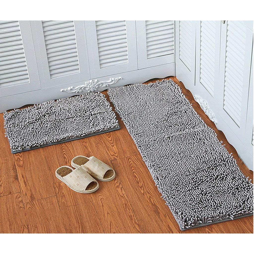 JU Chenille Matratze Tür Matratzen Schlafzimmer Tür Anti-Skid Anti-Skid Anti-Skid Pad Bad Küche Wasser Matte Mat Tür Matte B07HL5TWDC | Sonderpreis  cf7dcf