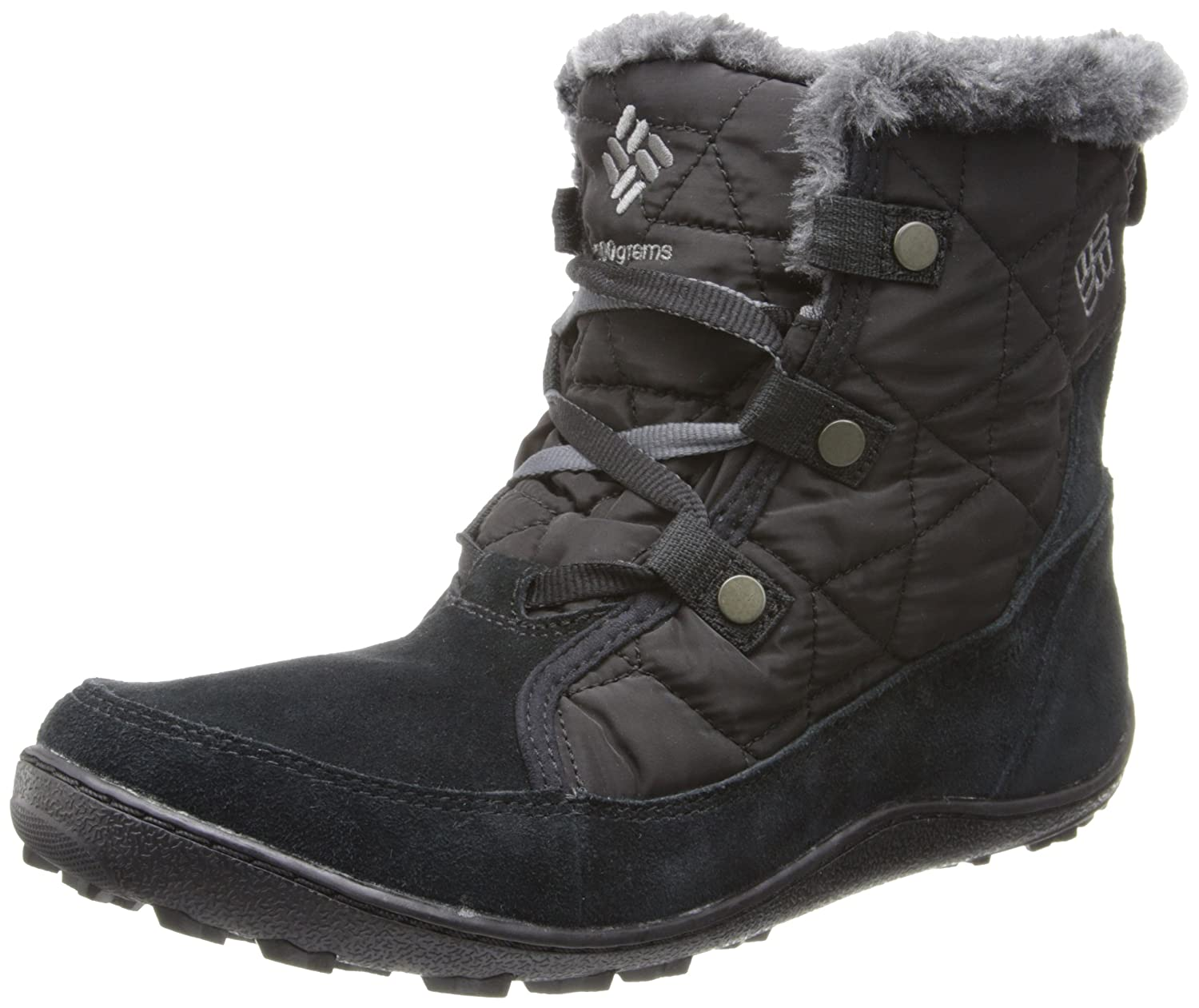 Columbia Women's Minx Shorty Alta Omni-Heat Snow Boot B00GW8GEGI 9.5 B(M) US|Black, Shale