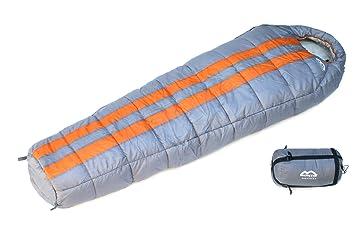 MONTIS CHEROKEE, saco de dormir para hasta -2 ºC, 220 x 80 cm, 1500 g, PRECIO ESPECIAL: Amazon.es: Deportes y aire libre