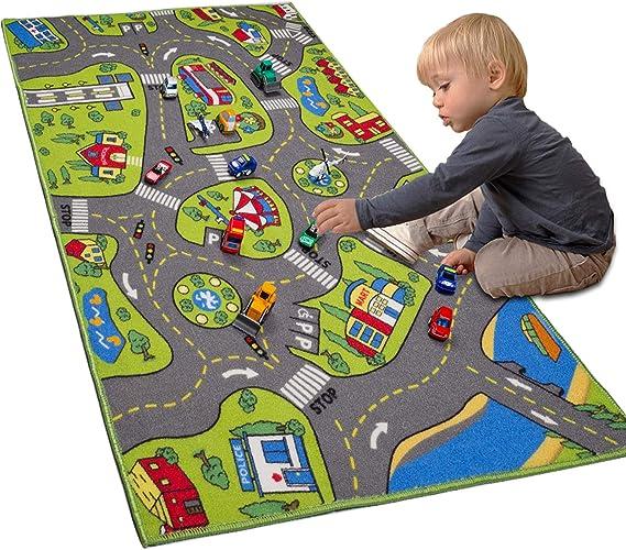 Kids Children Rug Play Mat Nursery Rugs Non Slip Girls Boys NOW 30/% OFF