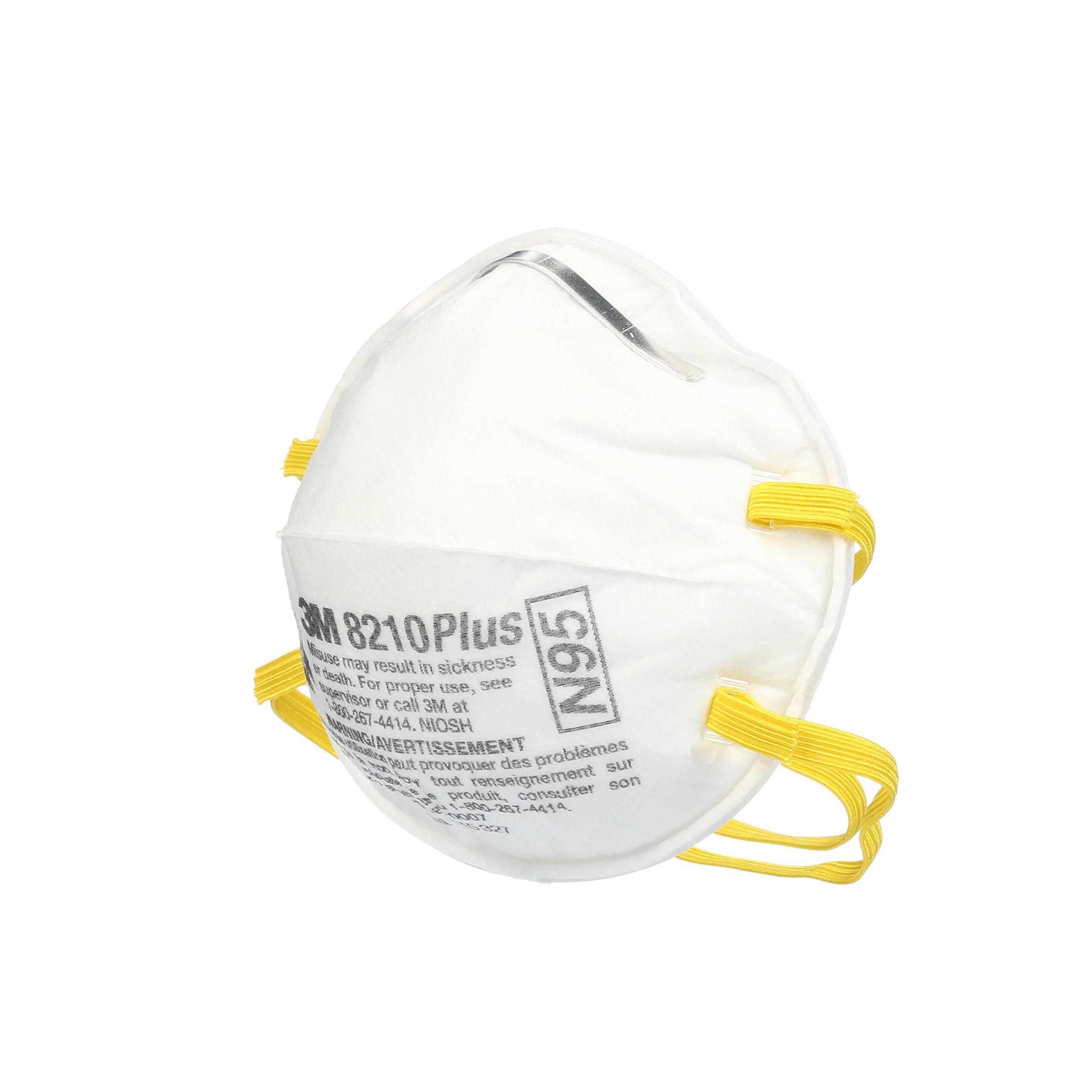3M 8210 Plus Paint Sanding Dust Particulate Respirators, N95, 20-Pack by 3M (Image #4)