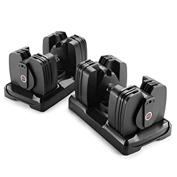 Bowflex Mancuerna selecttech 560 (par), 5 lb – 60 lb