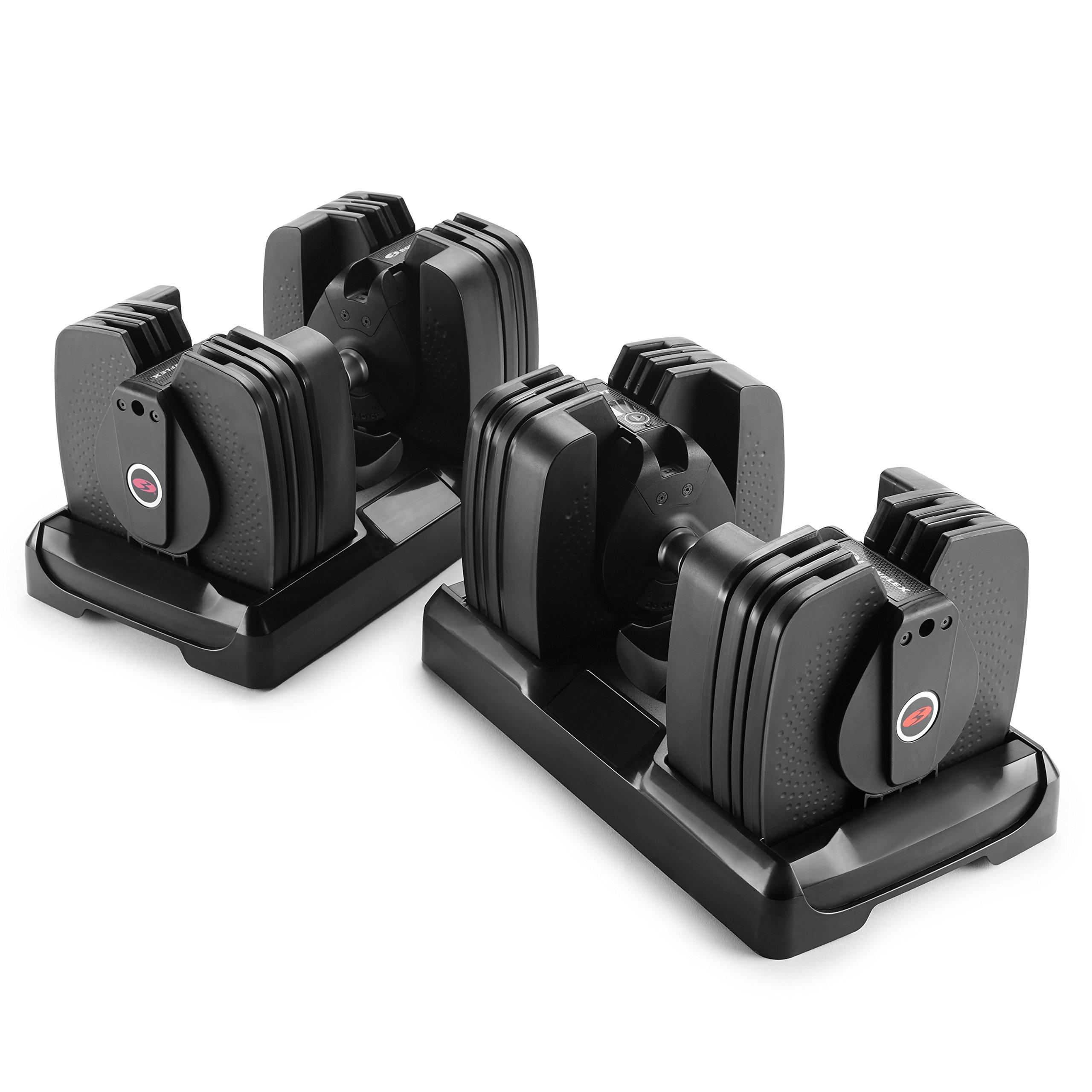 Bowflex SelectTech 560 Dumbbell (Pair), 5 lb - 60 lb by Bowflex